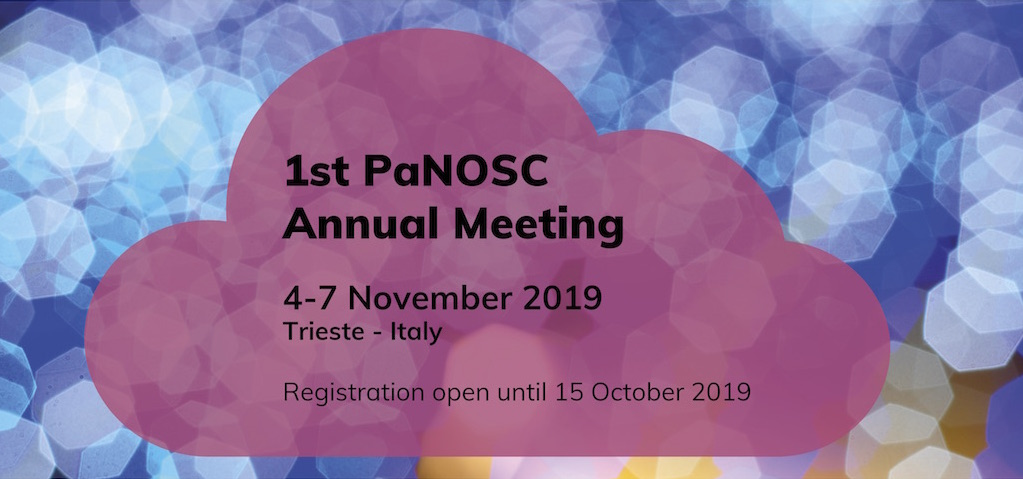 PaNOSC annual meeting - 4-7 November 2019, Trieste - Italy