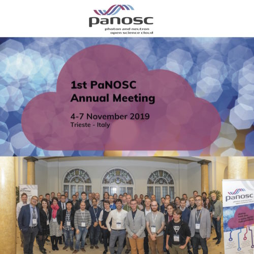 1st PaNOSC annual meeting - NEWS picture