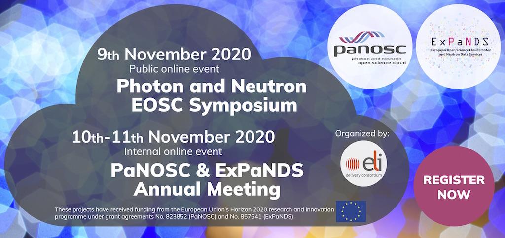PaN EOSC symposium and PaNOSC & ExPaNDS annual meeting - Banner