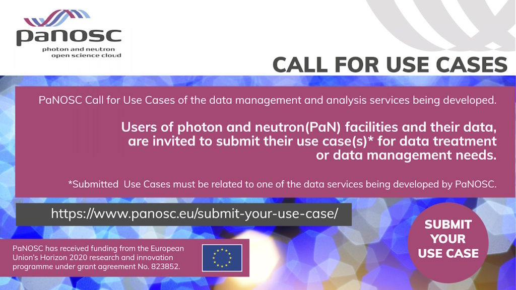 Call for use cases banner
